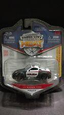 Jada Badge City Heat 2003 03 Nissan 350Z Police Cop Car 1/64 Scale Tuner
