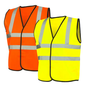 Facility Maintenance & Safety Clothing, Shoes & Accessories Childrens Kids High Visibility Hi Vis Viz Waistcoats En1150