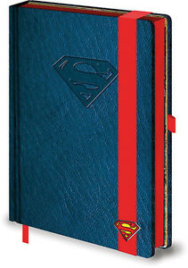 Hojas-notas-Superman-DC-Comics-Cuaderno-deluxe-oficial-Superman-notebook