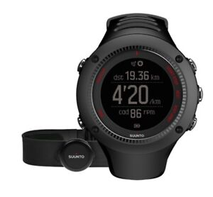 Suunto Ambit 3 Run Watch * Black GPS Heart Rate Monitor Bluetooth SS021257000