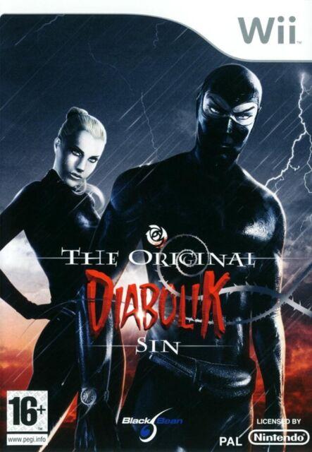DIABOLIK - THE ORIGINAL SIN / NINTENDO Wii / NEUF SOUS BLISTER D'ORIGINE / VF