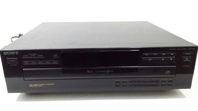 Sony CDP-C245 CD Player 5 CD Carousel Tray