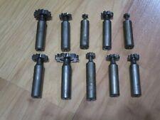 10 Good Used Woodruff Keyway Key Seat Cutters Machine Cutting Tools Usa Lot C
