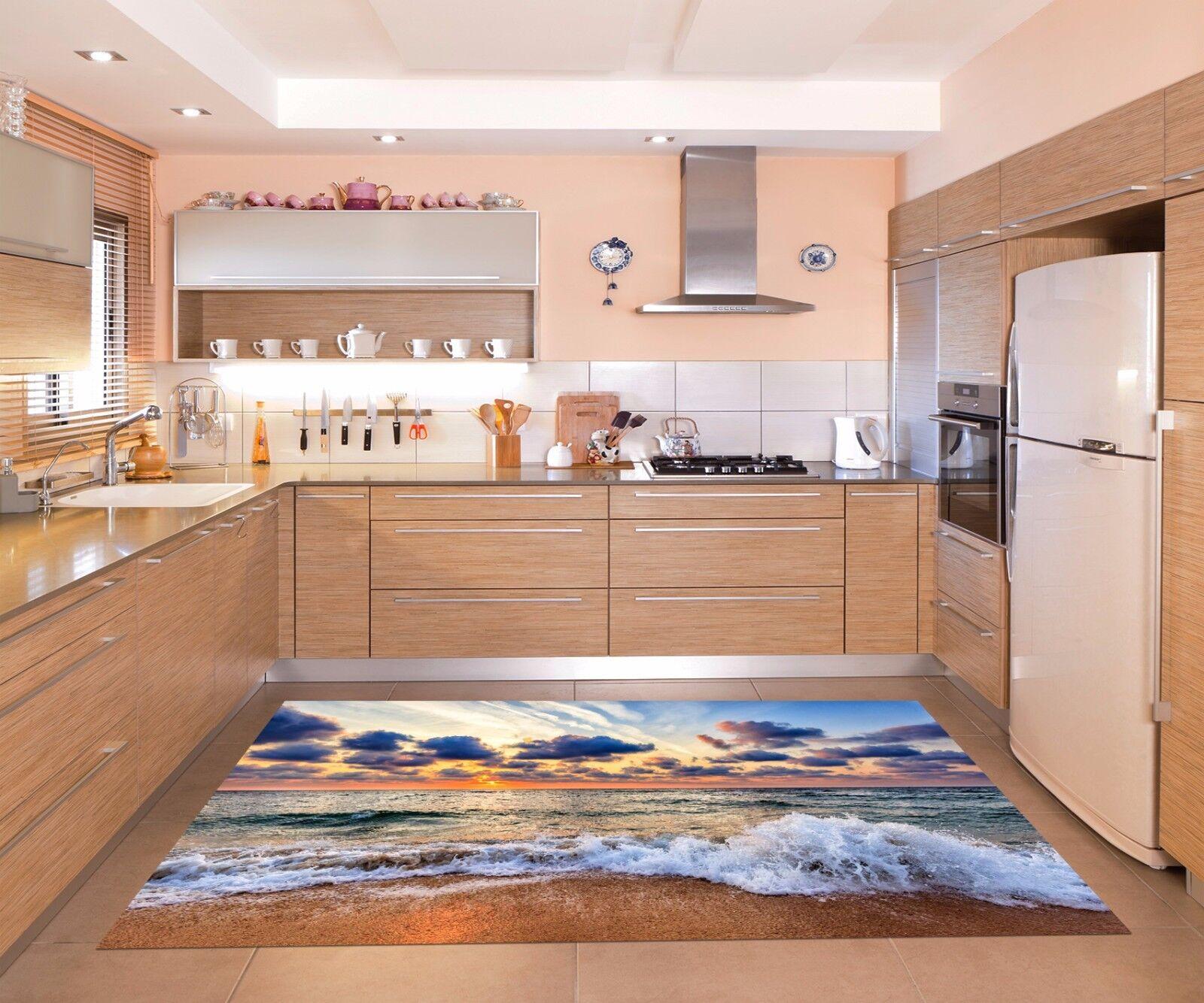 3D Sky Waves 735 Kitchen Mat Floor Murals Wall Print Wall AJ WALLPAPER AU Kyra