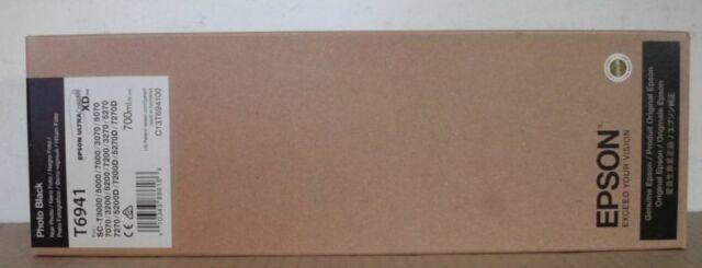 Epson Tinte T6941 Photo Black SC-T 3000 3070 3200 5000 5200 7000 7200 7270 2017