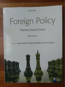Theories Actors Cases Foreign Policy