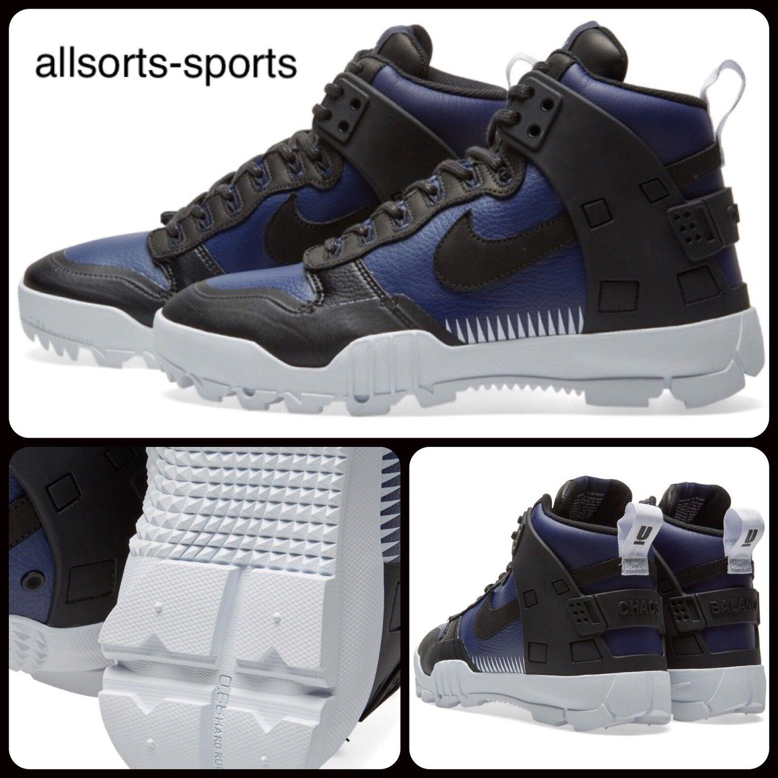 Nike NikeLab SFB Jungle Dunk Undercover 910092-001 Black Loyal Blue