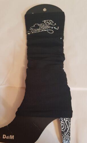 Damen Stulpen Stulpen für Teenager/&Damen One Size Strasssteinchen