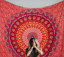 Indian-Tapestry-Wall-Hanging-Mandala-Hippie-Gypsy-Bedspread-Throw-Bohemian-Cover thumbnail 9