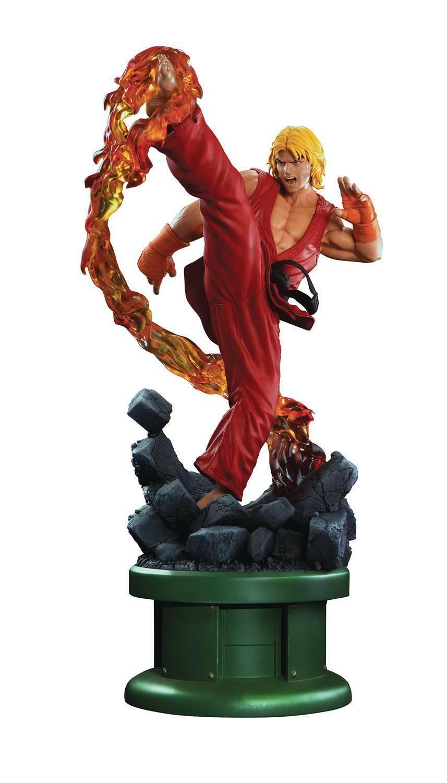 distribución global Street Fighter IV Ken Masters 1 4 4 4 Escala Estatua  soporte minorista mayorista