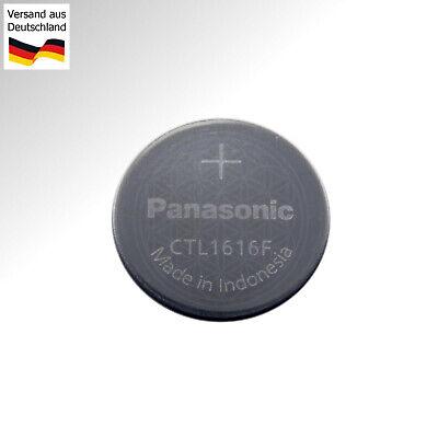 Panasonic Condensateur Batterie CTL1616 pour Casio Solaire  2uVfs