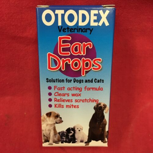 10 chiens vétérinaires Otodex Ear Drops chien tue les acariens apaise l'irritation élimine la cire