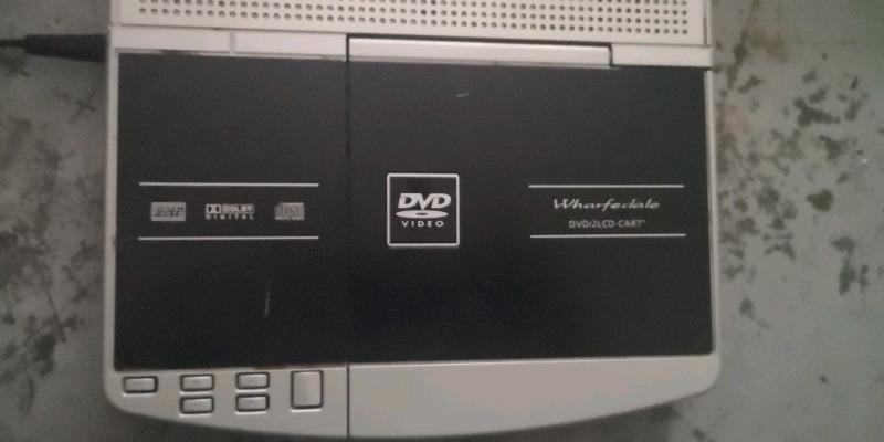 wharfedale portable dvd