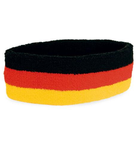 Bandeau Fan Article Football Wm Allemagne Couleurs