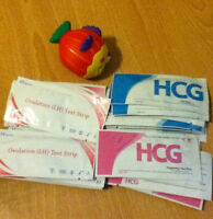 30 Ovulation + 20 Pregnancy Tests Strips Fast Ship From Usa