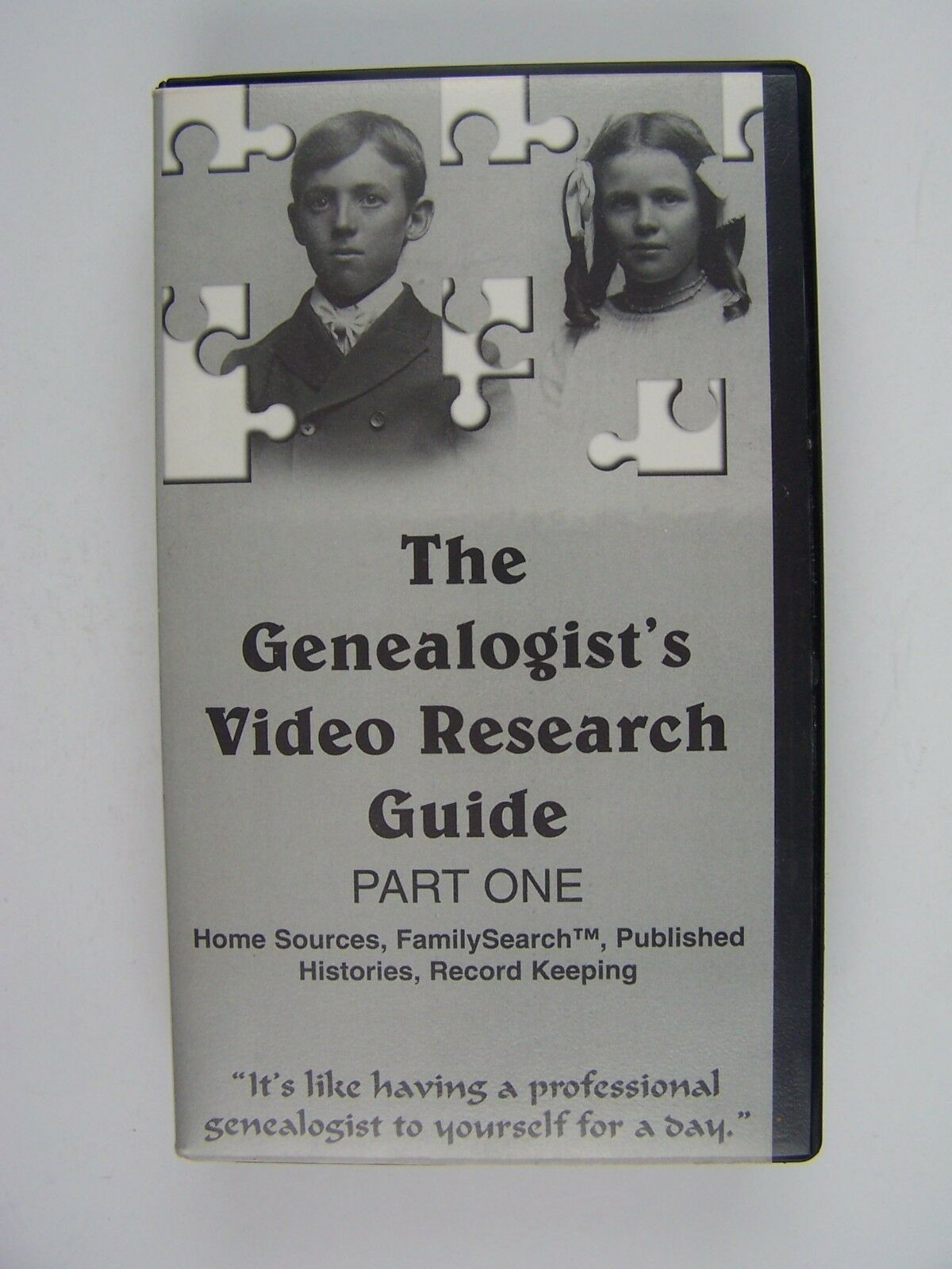 The Genealogist's Video Research Guide Part 1 VHS Video