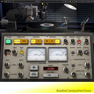 Waves-ABBEY-ROAD-VINYL-vintage-sound-analog-warmth-Audio-Software-Plug-in-NEW