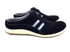 Keds Women's Black Suede Zip Slip On Shoes Size 9.5