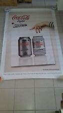 AFFICHE COCA COLA JPG GAULTIER 4x6 ft Shelter Original Vintage Fashion Poster