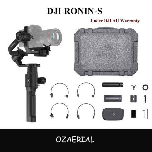DJI RoninS 3Axis Gimbal Stabilizer Stabilization,75kph Speed,12hrs Bat life
