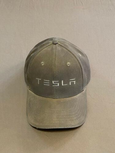 Tesla Motors Hat Designed by Tesla Gray Adjustable