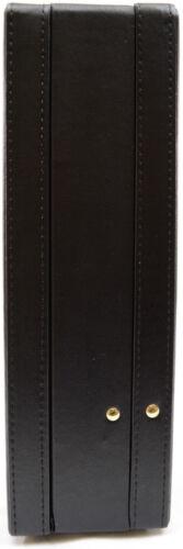 Executive Faux Leather Business Class Briefcase Attache 6910 Travel Case Unisex