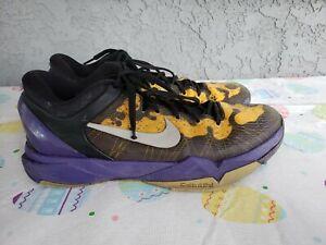 beeb231478d Rare Nike Zoom Kobe VII System Poison Dart Frog Size 11 488371-500 ...