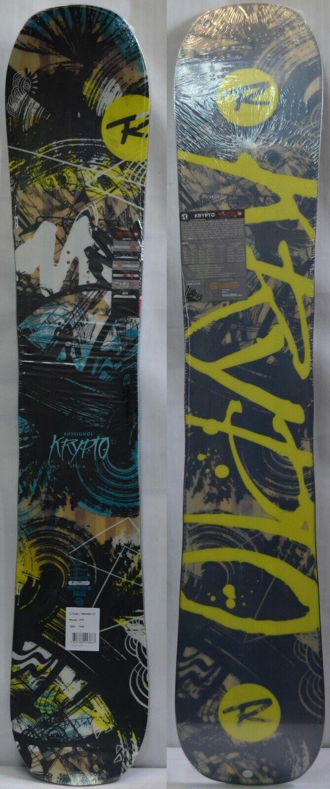 '18   '19 Rossignol Krypto Men's Snowboard - 159 cm NEW