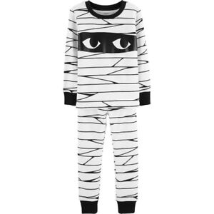 7cdf59aa07 Baby Carter s Glow-In-The-Dark Halloween Mummy Pajama Set Size 18 ...