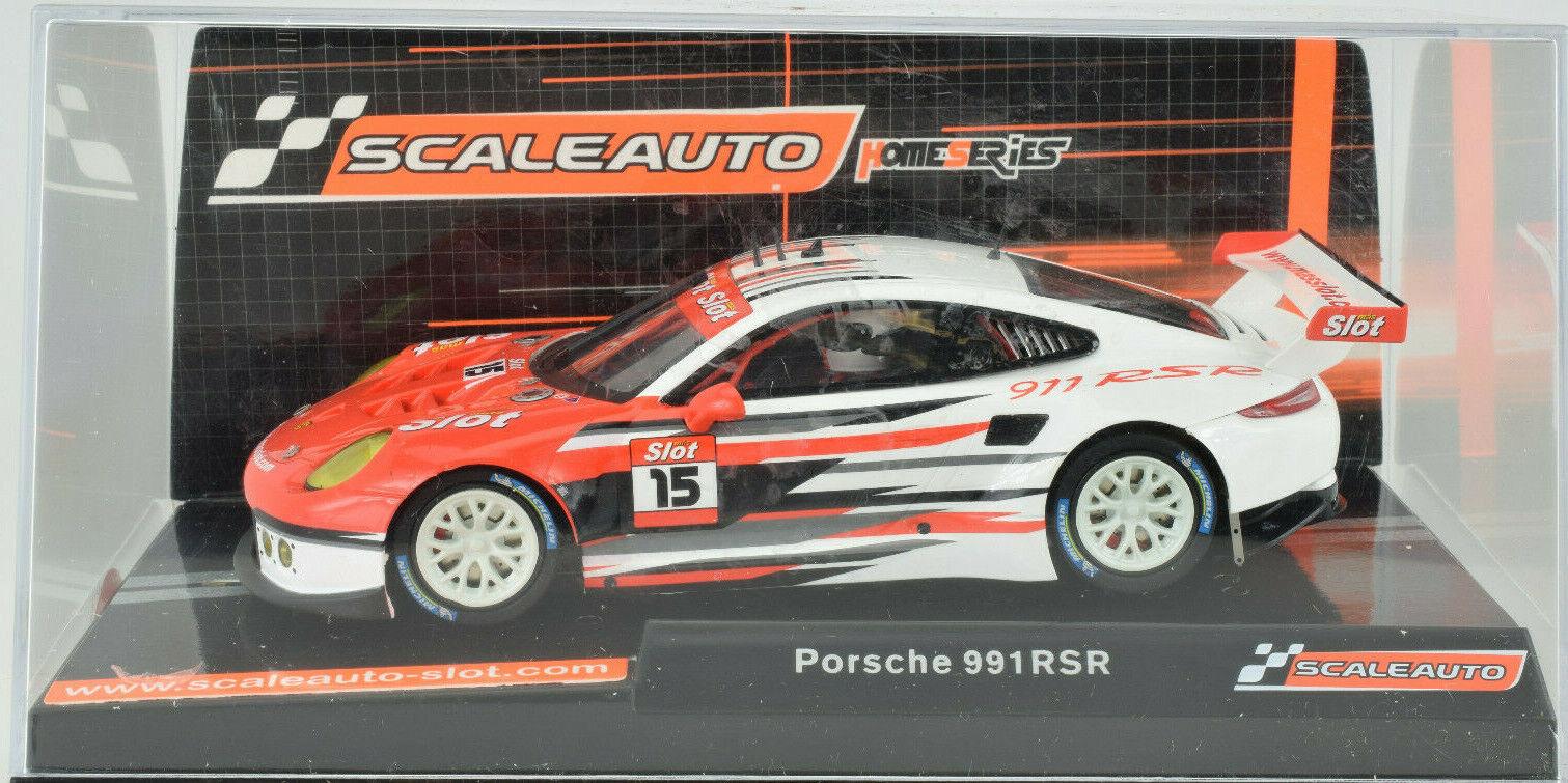 Scaleauto Porsche 911 Rsr - Mas Schlitz Spezial Edition 1 32 Maßstab Slotcar