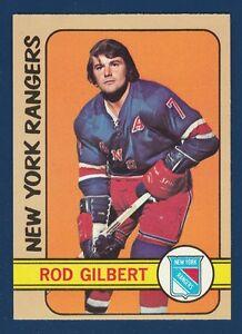 ROD GILBERT 72-73 TOPPS 1972-73 NO 80 EX+
