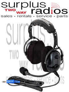 New-Rugged-Radios-H22-Ultimate-Carbon-Fiber-Headset-Vol-Control-Intercom-Racing