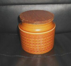 Vintage-Hornsea-Pottery-Saffron-Pattern-Lidded-Storage-Jar