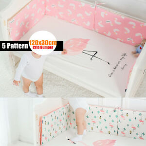 25mm-Infant-Newborn-Baby-Crib-Bumper-Comfy-Cushion-Pad-Nursery-Bedding-Protector