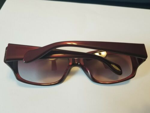 Brown Gradient 58-16-120 Authentic OLIVER PEOPLES Sunglasses ROC  Hayworth Red