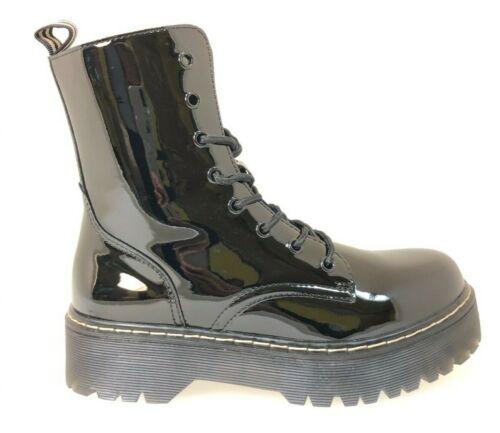 Trend Boots Schwarz Lack Plateau !!!!