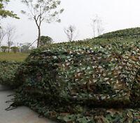 Camouflage Camo Net Netting Cover Blinds Jungle Military Tarp Fu 1m1m