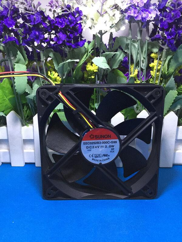 1pc SUNON 12025 24V 2.0W EEC0252B3-000C-G99 Cooling fan