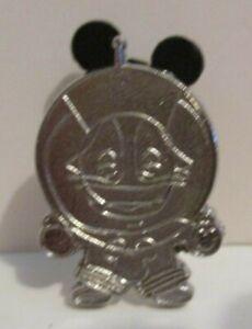 Disney Hidden Mickey Diamond Attractions Rocket To The Moon Pin