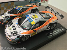 "Carrera Digital 124 23811 Ferrari 458 Italia GT3 ""Black Bull Racing No. 64"" NEU"