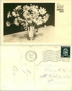 Latvia-1940-postcard-used-Riga-e1062