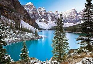 (CSC102372) - Castorland Jigsaw 1000 pc - Jewel of the Rockies, Canada