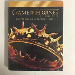 Game Of Thrones Le Trône De Fer Saison 2 Blu-Ray neuf sous blister c20