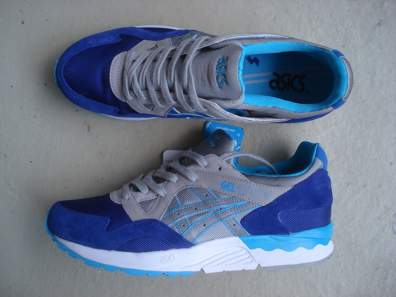 Asics Gel Lyte V 5 42.5 Dark Blau Light grau