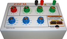 Resistance Decade Box 5 Watt Withsingle Component Plug In Receptacle