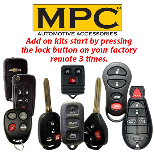Add-on Remote Start for 2003 Ford F-350 Super Duty Factory Keyless Entry