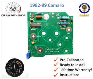 82-89-Camaro-Tachometer-Circuit-Board-Pre-Calibrated-Ready-to-Install-NEW