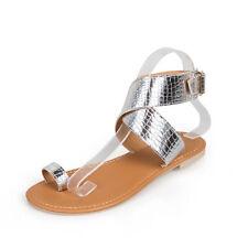 1b2836cc7 item 4 Women Boho Beach Sandals Buckle Slippers Flat Slip On Flip Flop  Casual Roma Shoe -Women Boho Beach Sandals Buckle Slippers Flat Slip On  Flip Flop ...