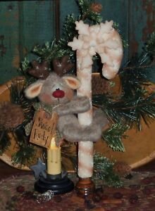 Primitive Patti/'s Ratties Christmas Reindeer Ornie Paper Pattern #367
