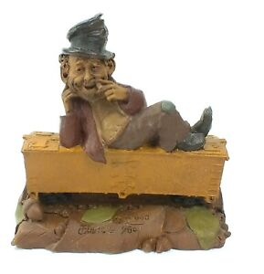 1986 TOM CLARK Hand Craft GNOME Figurine HOBO #1134 LE #63 CAIRN STUDIO